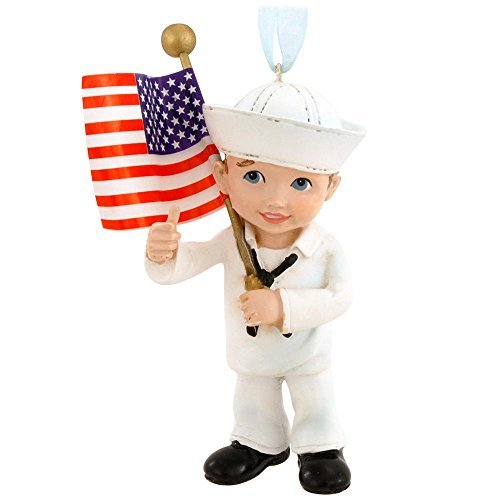 united-states-navy-military-kid-with-us-flag-christmas-ornament-na2143-new-usn-by-kurt-adler