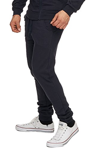 MERISH Herren Jogging Hose Traingshose Sporthose Modell 209 Dunkelblau
