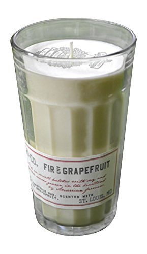 Barr-Co. Fir and Grapefruit Natural Wax Candle by Barr Co