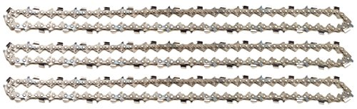 "3 tallox cadenas de sierra 3/8\"" 1,6 mm 60 eslabones 40 cm semi-chisel compatible con Stihl"