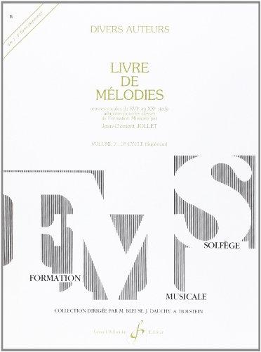 Livre de Melodies Volume 7