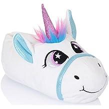 Gadget Unicorn Pantofole da Martildo Donna Bambini Divertimento Felpa  Regalo Morbido Caldo Comodo Scarpe 11d2e5ac46f