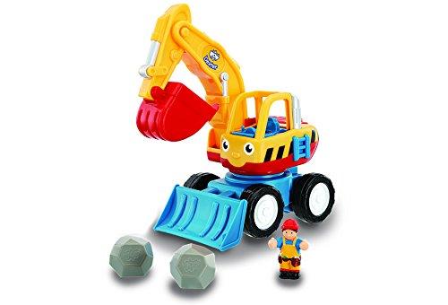 Jumbo Games WOW Toys - Dexter The Digger, coche de juguete (01027)