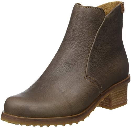 El Naturalista Damen Soft Grain Kurzschaft Stiefel, Grau (Plume Plume), 38 EU