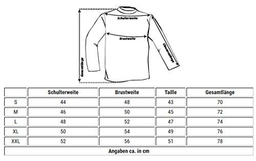 ReRock Herren 2in1 Longsleeve Hemd Kragen Shirt Pullover Langarm mit Tiefem V-Ausschnitt Einfarbig Slimfit Stretch Dunkelblau