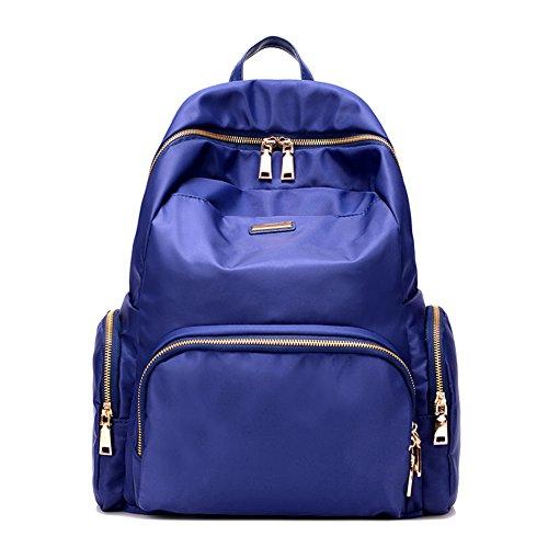 Lady koreanische Version von Nylon-Tasche/Damen Schultertaschen/Ultra leichte rucksack/Schultasche/Minimalistische Reisetaschen-B A