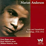 Marian Anderson - Rare and Unpublished Recordings, 1936-1952