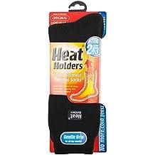 Heat Holders - Damen Warme Streifen Winter Thermosocken Socken Bunte Muster 37-42 eur