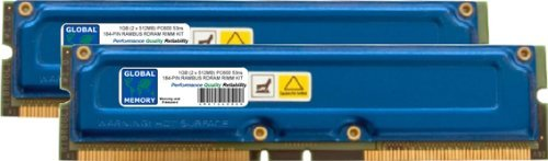 1GB (2 x 512MB) RAMBUS PC600 184-PIN ECC RDRAM RIMM MEMORIA RAM KIT PER WORKSTATIONS/SCHEDE MADRE