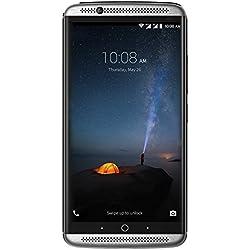 ZTE Axon 7 (Ecran: 5,5 pouces - 64 Go - Double Nano-SIM - Android 5.1 Lollipop) Gris (Import Allemagne)