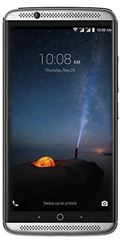 "ZTE Axon 7 - Smartphone libre de 5,5"" (4G, Qualcomm Snapdragon 820 , 4 GB RAM, almacenamiento interno de 64 GB, Bluetooth, WiFi, Android), color plateado"