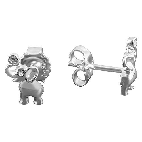 Thomas sabo - Thomas bloqueo h1878 - 051-14 elefant pendientes de plata...
