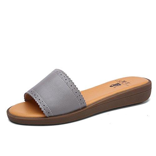 Flat Sandals/Sandales femme/Pantoufles et sandales casual A