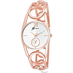 Rich Club RC-4091ROSE Oppo Ring Rose Gold Metallic Band Analog Watch - For Women