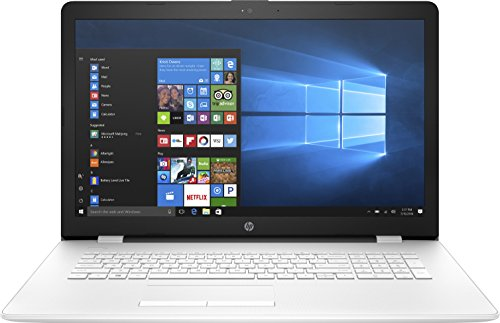 HP 17-bs075nf PC Portable 17' HD Blanc (Intel Pentium, 8 Go de RAM, 1 To, Intel HD 405, Windows 10)