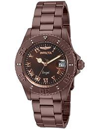 Invicta para mujer ángel Diver Swiss cuarzo Diamante acentuado con color  marrón IP Acero inoxidable reloj 265e940b273c