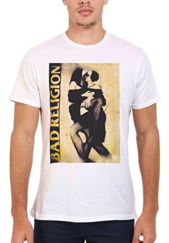 Bad Religion Kissing Nuns Sexy Cool Funny Men Women Damen Herren Unisex Top T Shirt-S