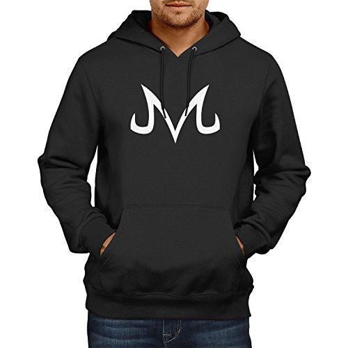 TEXLAB DBZ: Majin Logo - Herren Kapuzenpullover, Größe XL, schwarz