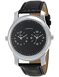 Giordano Analog Black Dial Men's Watch - 60062 (P10501)
