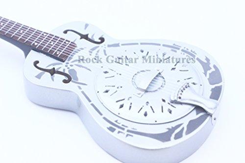 RGM181 Marc Knopfler Brothers in Arms Dire Straits Miniaturgitarre inkl. Leder-Gitarrengurt