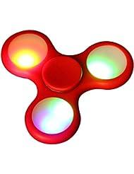 Bescita LED Licht Fidget Hand Spinner Torqbar High Speed Finger Spielzeug EDC Focus Gyro