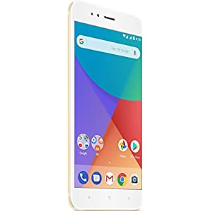 "Xiaomi Mi A1 - Smartphone 5.5"" (RAM 4 GB, internal memory 32 GB,GBG, Full HD), Golden colour [Spanish version]"