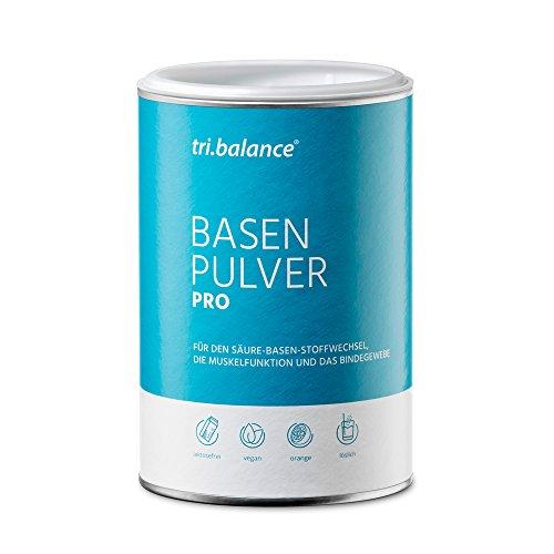 tri.balance Basenpulver Pro 300 g - 1er Pack I Mit Zink zur Entsäuerung I Für die Säure-Basen-Balance I vegan -