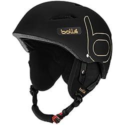 Bollé casco de B-style Soft, invierno, unisex, color Negro - multicolor, tamaño 54-58 cm