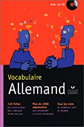 Vocabulaire allemand (contient un CD audio)