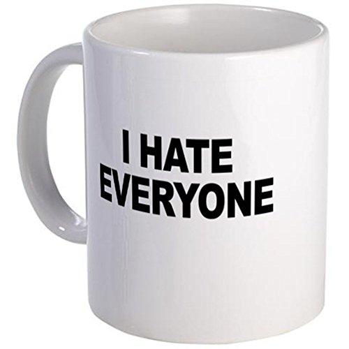 Cafepress-Little Miss Sunshine (i Hate tutti)-unico tazza di caffè, 311,8gram tazze in tazza di caffè, tè, White, small