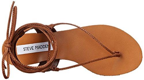 Steve Madden Walkitt Sandal Chestnut Suede