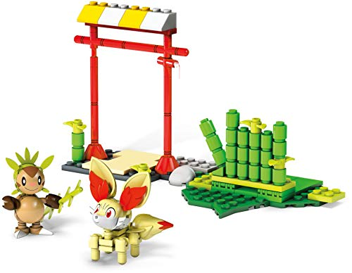 Mega Construx Pokemon Chespin Vs Fennekin Building Set (Fennekin Pokemon Spielzeug)