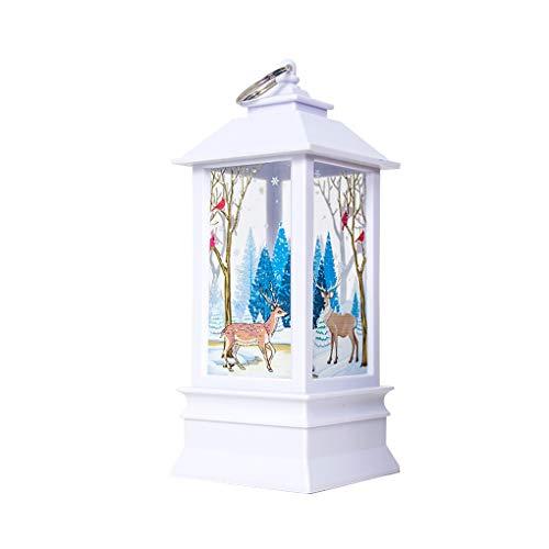 mailfourn Navidad Santa Claus muñeco de Nieve de la decoración de la...