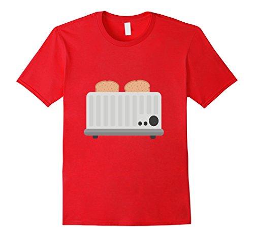 toast-toaster-t-shirt-breakfast-kitchen-appliance-cook-herren-grosse-m-rot