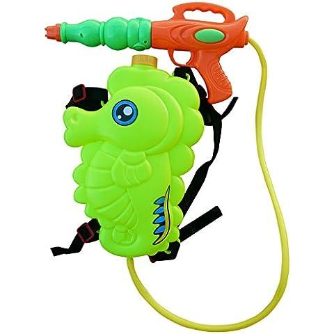 S32 escopeta pistola de agua con mochila caballito de mar como depósito de agua dulce
