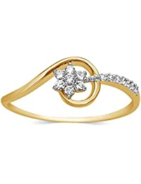 Carats For You Everlite Collection 18k (750) Gold and Diamond Ring