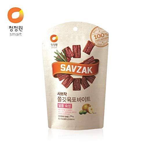 chungjungone SAVZAK Tender Beef Jerky Sweet 70g K-Food