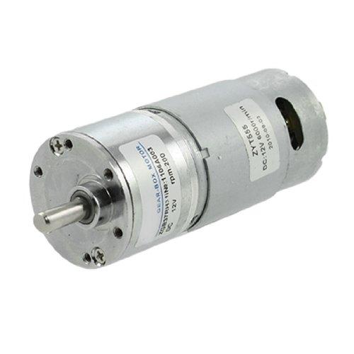 Preisvergleich Produktbild sourcingmap® 200RPM 12V 2.1A 5.8Kg.cm Drehen DC Getriebemotoren Getreiben Vorgelege