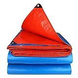 Plane Zaixi Reißfeste Campingzelt Sonnenschirm Abdeckplane  UV-Schutz 160 G / M3 Gartenbedeckungswaren Große Dimension (Size : 4x8m)