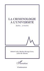 Criminologie à l'université: Mythes... et réalités