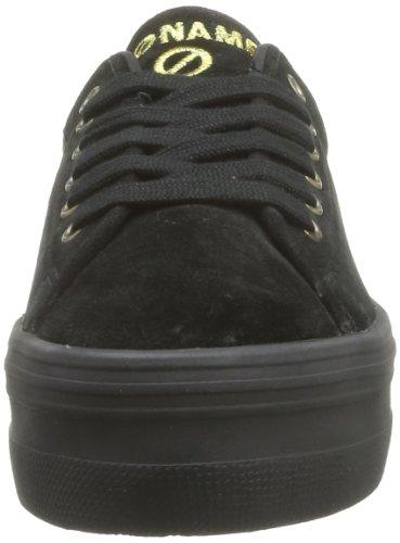 NONAME - Plato Sneakers Split, Sneaker Donna Nero (Noir (Black))
