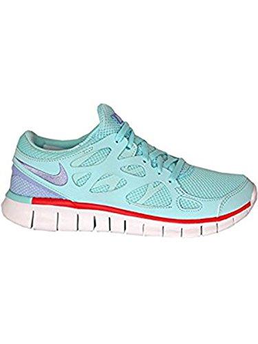 Nike Free Run+ 2 EXT Women Laufschuhe glacier ice-purple fade-light crimson-black - 40