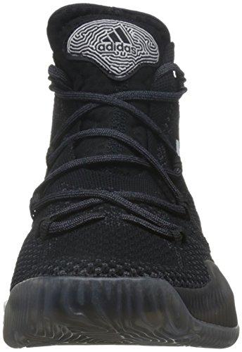 adidas Crazy Explosive, Basket homme Multicolore - Multicolore (Cblack/Ftwwht/Granit)