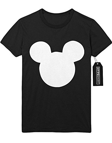 """T-Shirt """"MICKEY MOUSE SILHOUETTE"""" C138917 Schwarz"""
