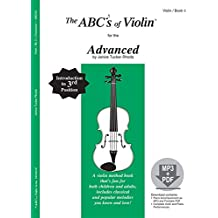 The ABC's of Violin for the Advanced, Book 3 (Book & CD)