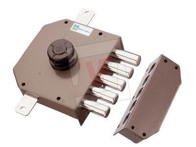 Serrure Triple Art. 621pompa-cilindro Ø 30mm avec longueur externe mm 50. Ouverture intérieure...