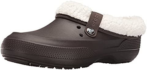 crocs ClscBlitz2Clog, Unisex-Adults Clogs, Brown (Espresso/Oatmeal), 8 UK Men/9 UK Women (42-43 EU)