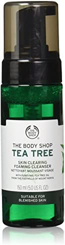 The Body Shop Tea Tree Skin Clearing Foaming Cleanser 150ml - leaving your skin feeling fresh and matte