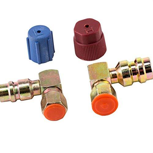 Lidahaotin 4PCS / Set R12 à R-134A Tous R12 systèmes d'adaptation raccords d'adaptateur Kit de Conversion VA-LH11