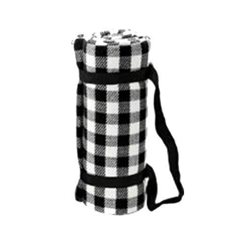 w.p. Feuchtigkeitsbeständige Picknickmatte, Picknickmatten-Park-Ausflug-Strand-Zelt-Matte im Freien, Kinder, die Matten-Teppich kriechen Meter Black 1.5 * 2m